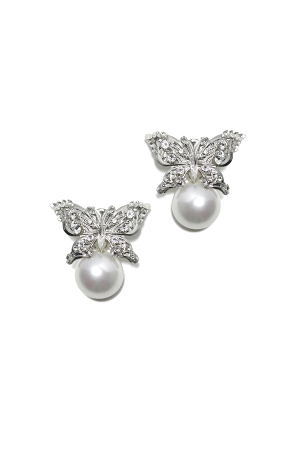 [RENTAL][LULU papillon Earrings] COUTURE by Julie