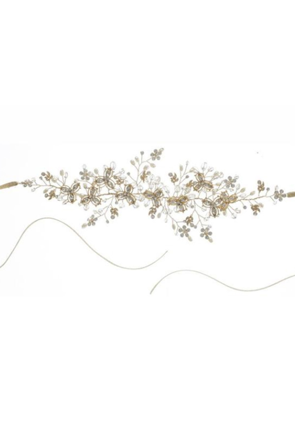 [RENTAL][Wisteria Headband Gold]by ElizabethBower(参考価格¥26,460)
