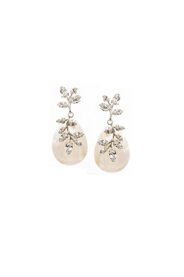 [RENTAL][Vine Petal Drop Earrings]by ElizabethBower