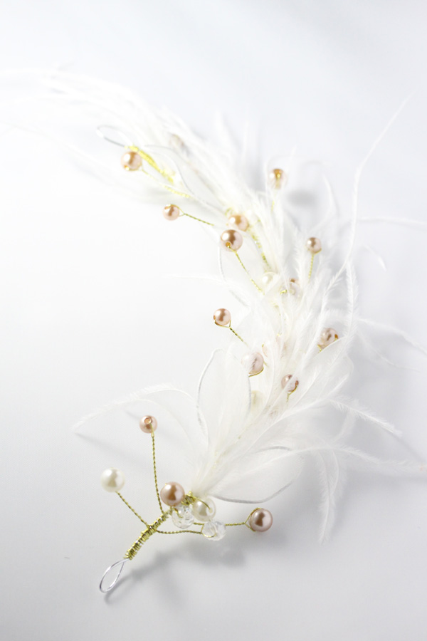 [SELL][Petit Julie Plume Pearl Headdress]by Petit Julie