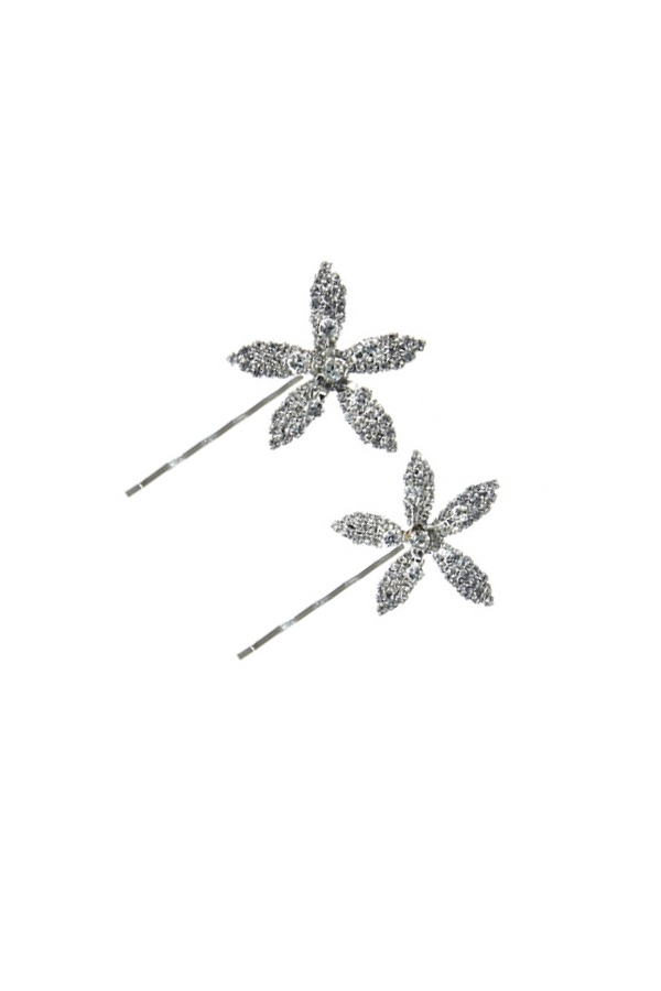 [RENTAL][Petite Orchid Bobbypin Set]by JENNIFER BEHR