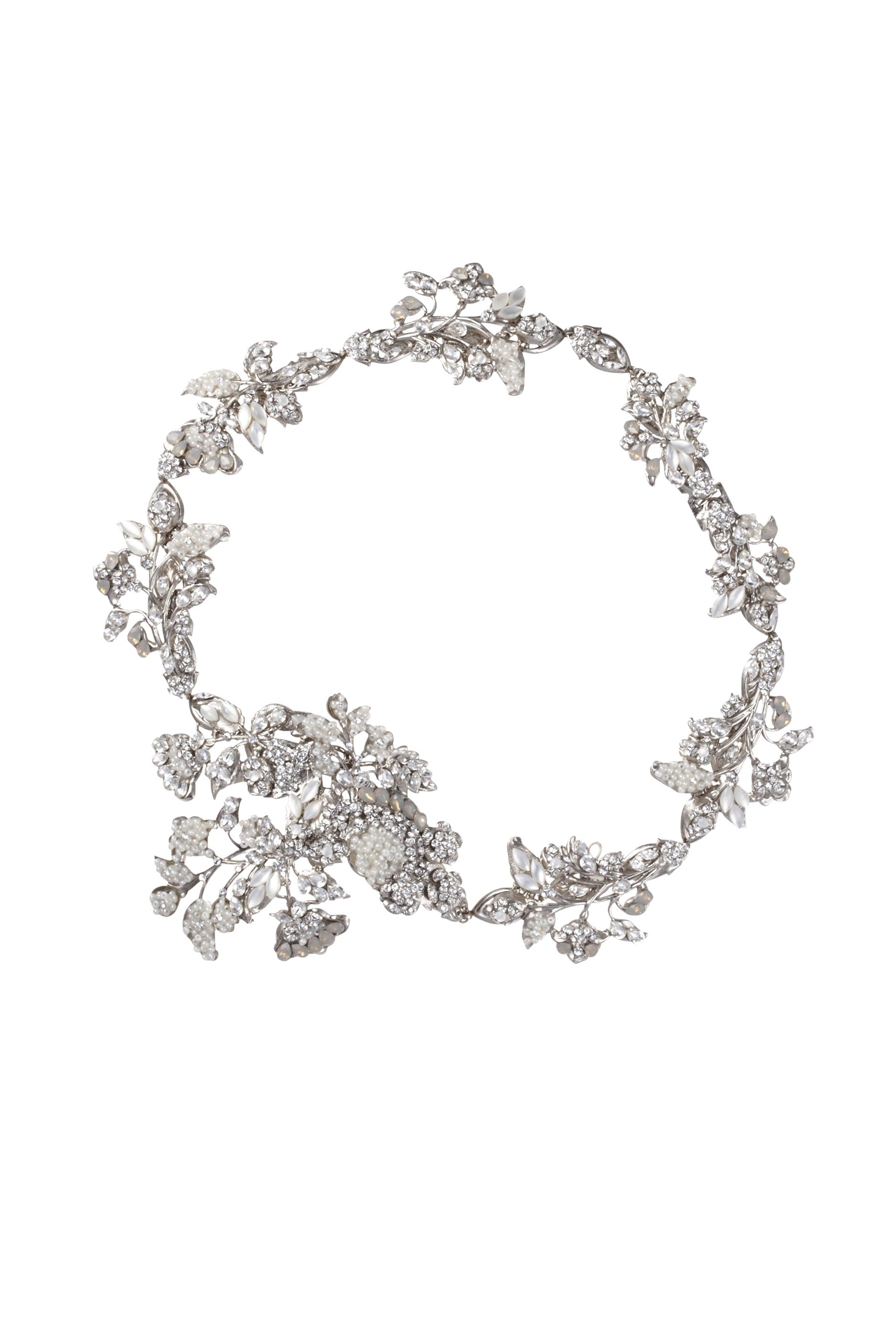 [RENTAL][Iris Headpiece Silver]by MariaElena(参考価格¥162,000)