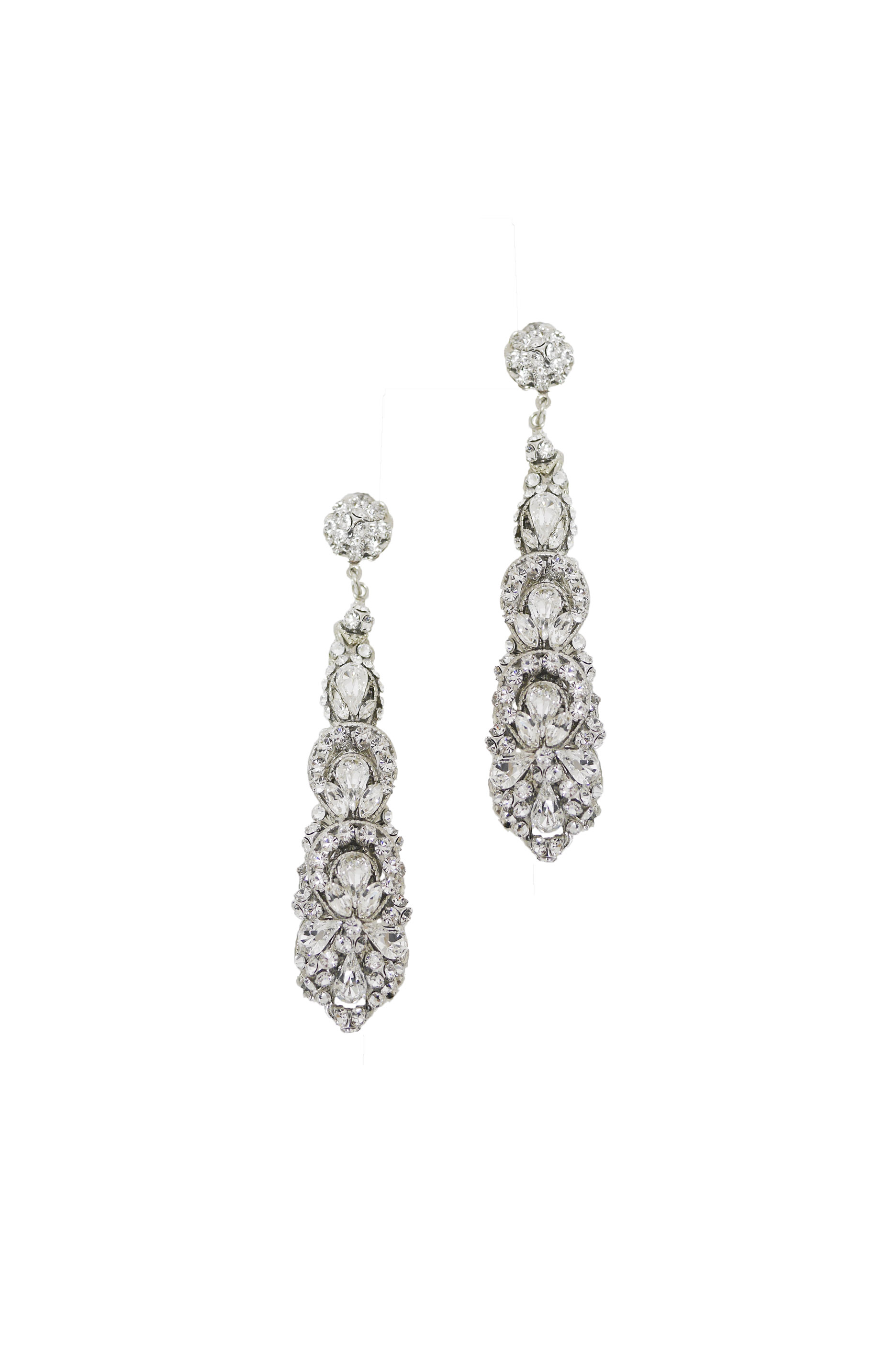 [RENTAL][Madelyn Earrings Long]by MariaElena(参考価格¥54,000)