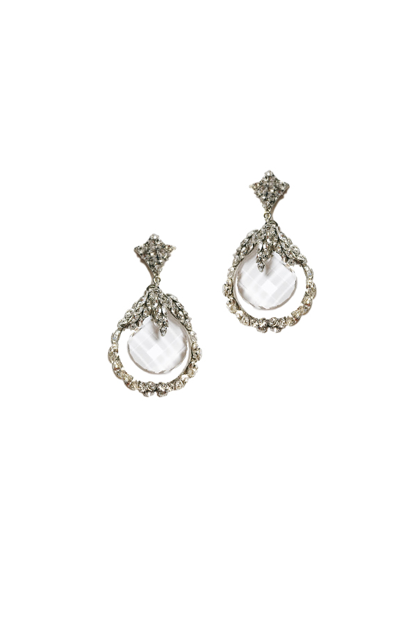 [RENTAL][Triangle Clair Earrings]by MariaElena(参考価格¥48,600)