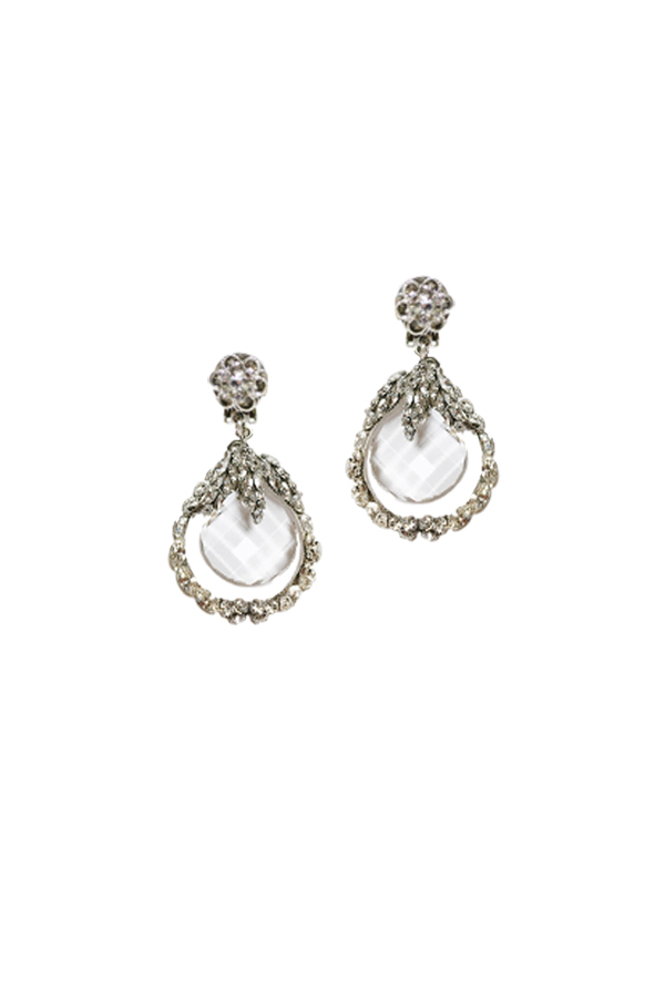 [RENTAL][Flower Clair Earrings]by MariaElena(参考価格¥48,600)