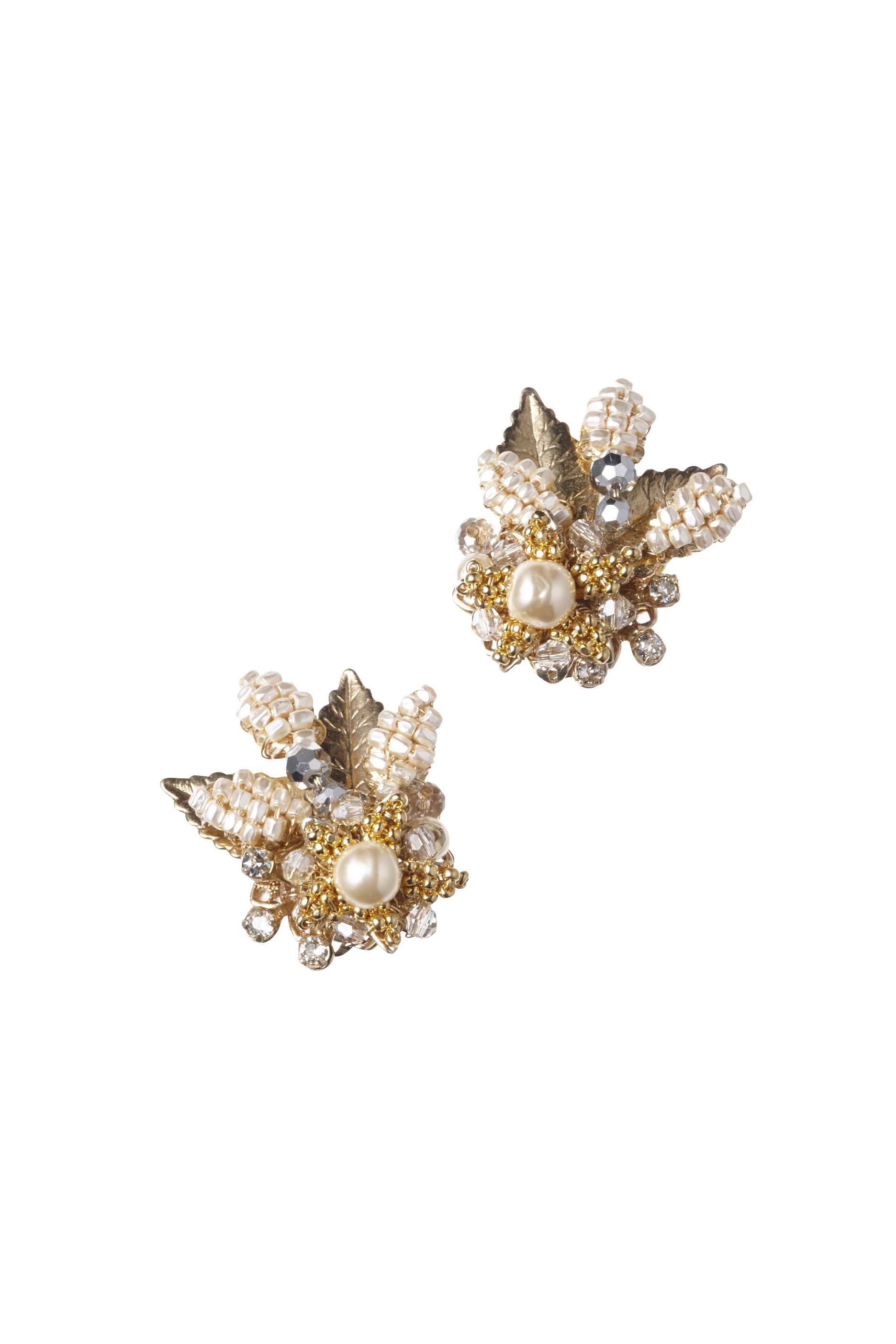 [RENTAL][FLOWER CLUSTER Earrings]by MIRIAM HASKELL(参考価格¥54,000)