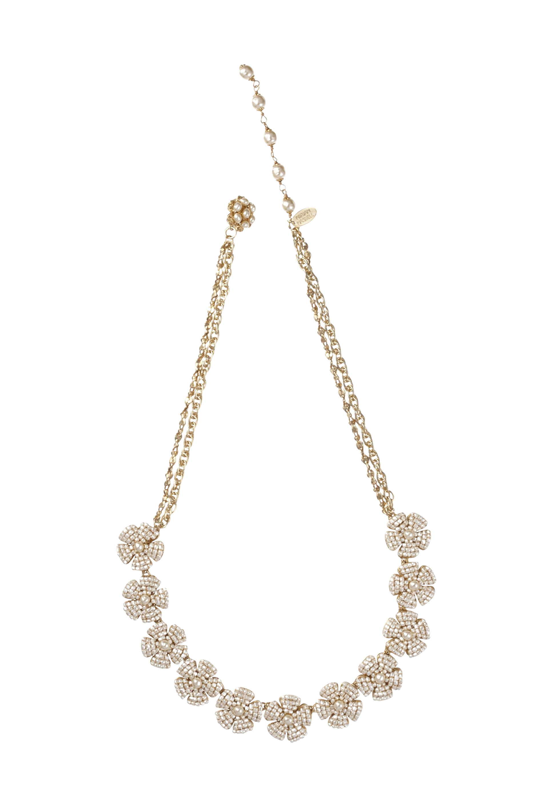 [RENTAL][BIB FLOWER Necklace]by MIRIAM HASKELL