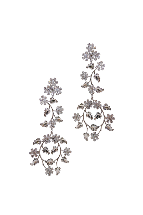 [RENTAL][Florina Earrings Crystal]by Ti Adoro Jewelry