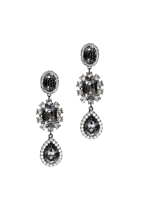 [RENTAL][Olivia Earrings Silvernight]by Creations Georgianni